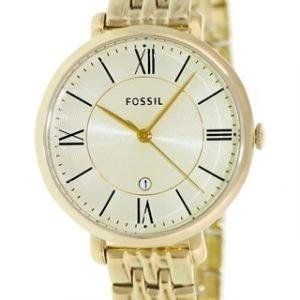 Fossil Dress Es3434 Kello Kulta / Kullansävytetty Teräs