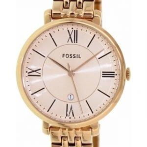 Fossil Dress Es3435 Kello Kulta / Punakultasävyinen