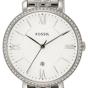 Fossil Dress Es3545 Kello Valkoinen / Teräs