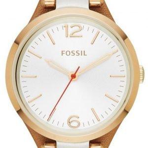 Fossil Dress Es3565 Kello Hopea / Nahka