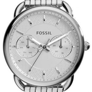 Fossil Dress Es3712 Kello Valkoinen / Teräs