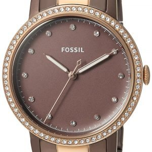 Fossil Dress Es4300 Kello Ruskea / Punakultasävyinen