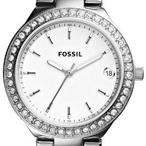 Fossil Dress Es4336 Kello Valkoinen / Teräs