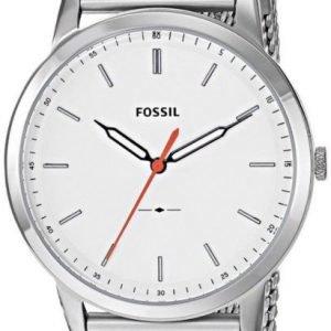 Fossil Dress Fs5359 Kello Valkoinen / Teräs