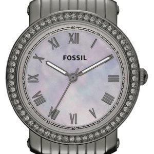 Fossil Emma Es3114 Kello Valkoinen / Teräs