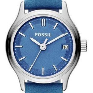 Fossil Es3273 Kello Sininen / Nahka