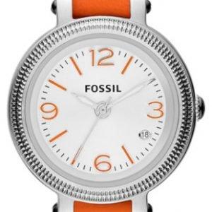 Fossil Es3332 Kello Valkoinen / Nahka
