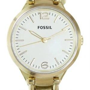 Fossil Es3414 Kello Kulta / Nahka
