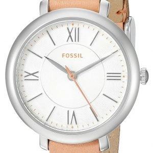 Fossil Es3938 Kello Valkoinen / Nahka