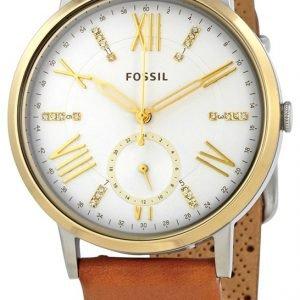 Fossil Es4161 Kello Valkoinen / Nahka