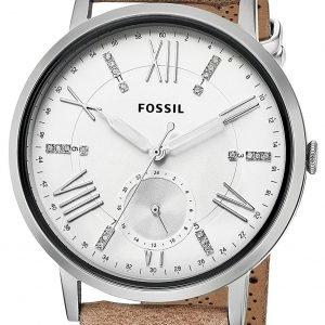 Fossil Es4162 Kello Valkoinen / Nahka