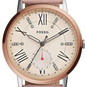 Fossil Es4163 Kello Pinkki / Nahka