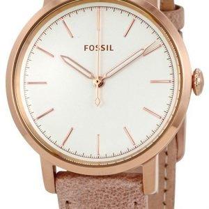 Fossil Es4185 Kello Valkoinen / Nahka