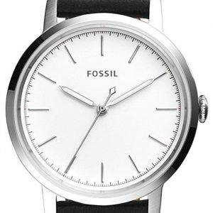 Fossil Es4186 Kello Valkoinen / Nahka