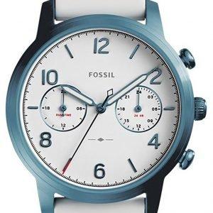 Fossil Es4235 Kello Valkoinen / Kumi