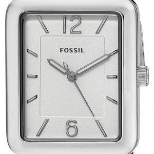 Fossil Es4243 Kello Hopea / Nahka