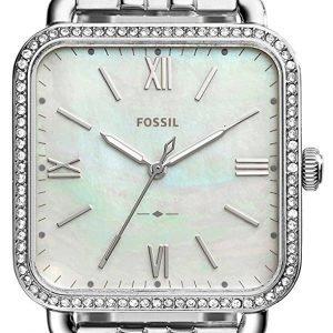 Fossil Es4268 Kello Valkoinen / Teräs