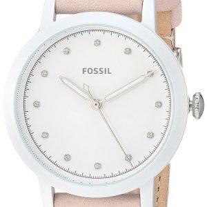 Fossil Es4399 Kello Valkoinen / Nahka