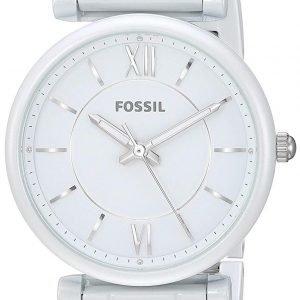Fossil Es4401 Kello Valkoinen / Teräs