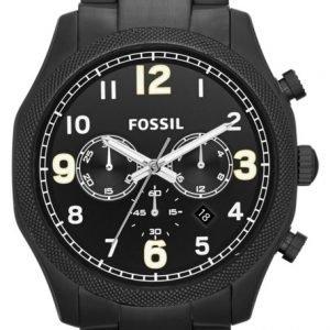 Fossil Foreman Fs4864 Kello Musta / Teräs