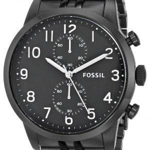 Fossil Fs4877 Kello Musta / Teräs
