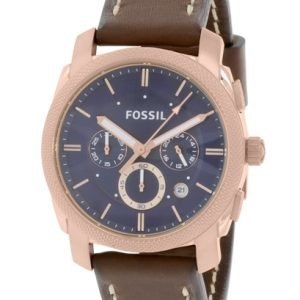 Fossil Fs5073 Kello Sininen / Nahka