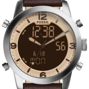 Fossil Fs5173 Kello Ruskea / Nahka