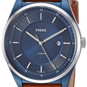 Fossil Fs5422 Kello Sininen / Nahka