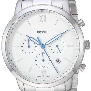 Fossil Fs5433 Kello Valkoinen / Teräs