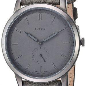 Fossil Fs5445 Kello Harmaa / Nahka
