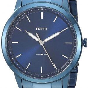 Fossil Fs5461 Kello Sininen / Teräs