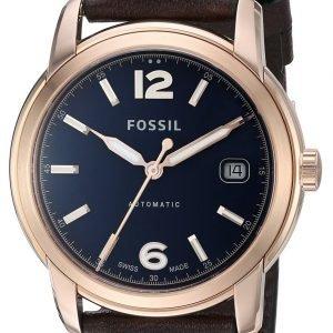 Fossil Fsw1003 Kello Sininen / Nahka