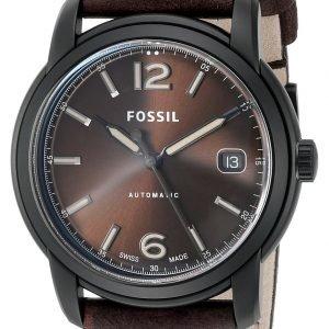 Fossil Fsw1007 Kello Ruskea / Nahka