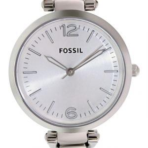 Fossil Georgia Es3083 Kello Hopea / Teräs