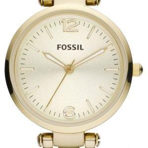 Fossil Georgia Es3084 Kello Kullattu / Kullansävytetty Teräs
