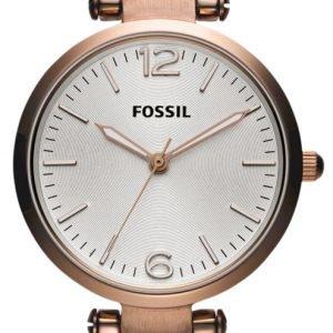 Fossil Georgia Es3110 Kello Valkoinen / Nahka