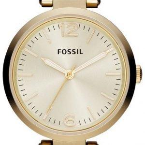 Fossil Georgia Es3260 Kello Kullattu / Kullansävytetty Teräs