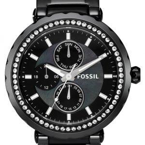 Fossil Glitz Ce1009 Kello Musta / Keraaminen