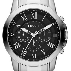 Fossil Grant Fs4736 Kello Musta / Teräs
