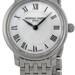 Frederique Constant Classics Fc-200mcs6b Kello Hopea / Teräs