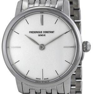 Frederique Constant Classics Fc-200s1s36b Kello Hopea / Teräs