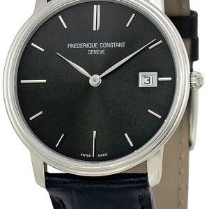 Frederique Constant Classics Fc-220ng4s6 Kello Harmaa / Nahka