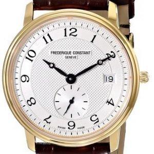 Frederique Constant Classics Fc-245as4s5 Kello Hopea / Nahka