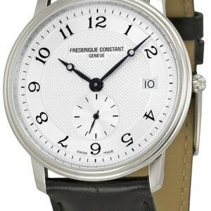 Frederique Constant Classics Fc-245as4s6 Kello Hopea / Nahka