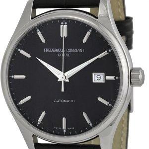 Frederique Constant Classics Fc-303b5b6 Kello Musta / Nahka