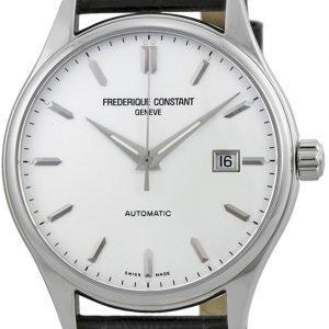 Frederique Constant Classics Fc-303s5b6 Kello Hopea / Nahka
