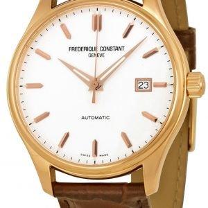 Frederique Constant Classics Fc-303v5b4 Kello Hopea / Nahka
