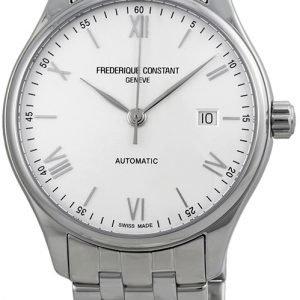 Frederique Constant Classics Fc-303wn5b6b Kello Hopea / Teräs