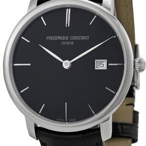 Frederique Constant Classics Fc-306g4s6 Kello Musta / Nahka