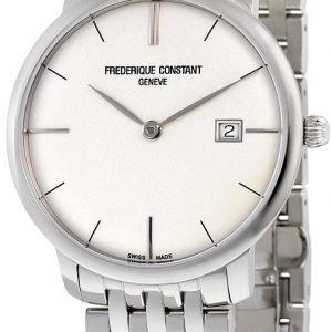 Frederique Constant Classics Fc-306s4s6b2 Kello Hopea / Teräs